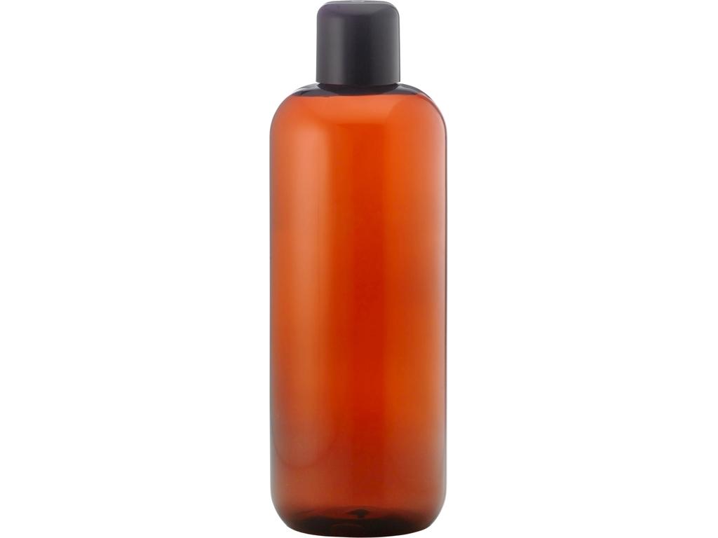 Brun plastflaske 500 ml