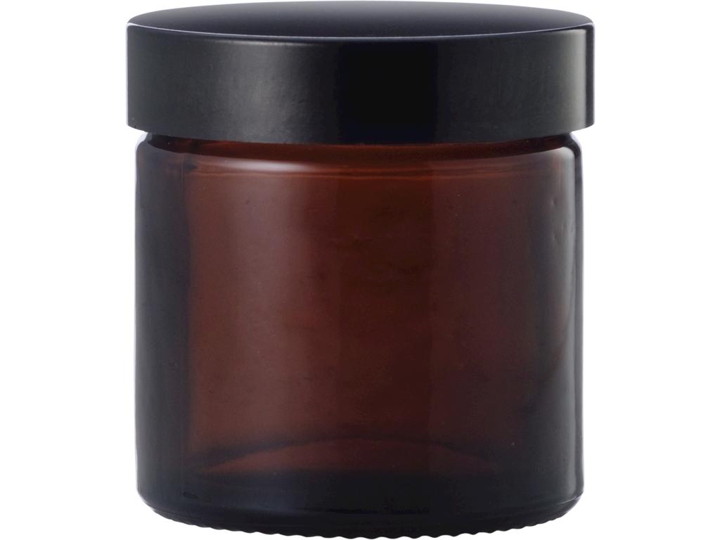 Brun glaskrukke 60 ml