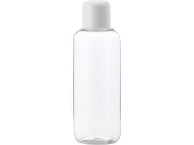 Klar plastflaske 250 ml hvidt låg