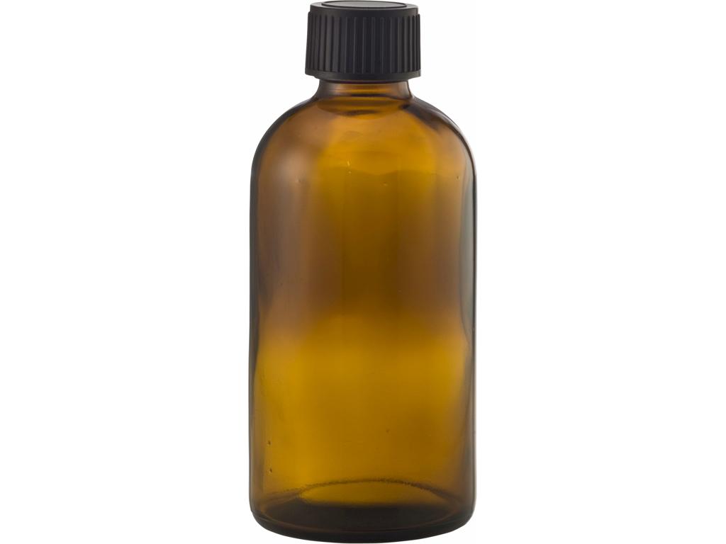 Brun glasflaske 250 ml