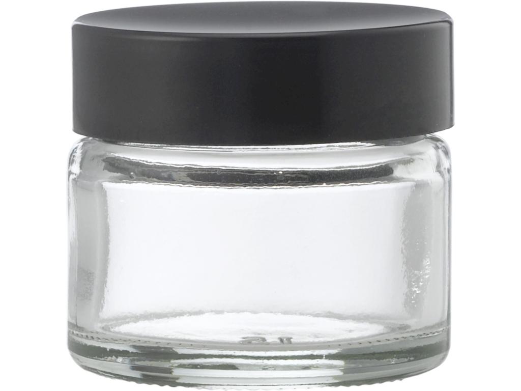 Klar glaskrukke 15 ml
