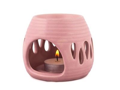 Duftlampe dråbe rosa