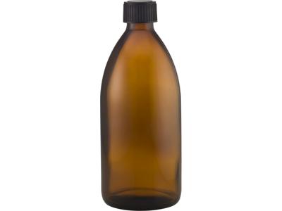 Brun glasflaske 500 ml