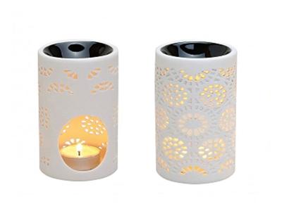 Duftlampe kniplingemønster