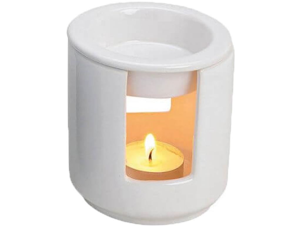 Duftlampe lille hvid