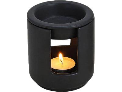 Duftlampe lille sort