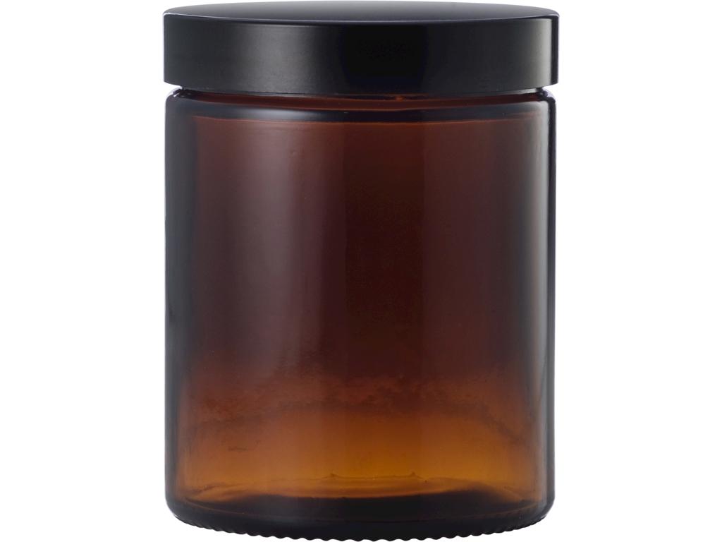Brun glaskrukke 180 ml