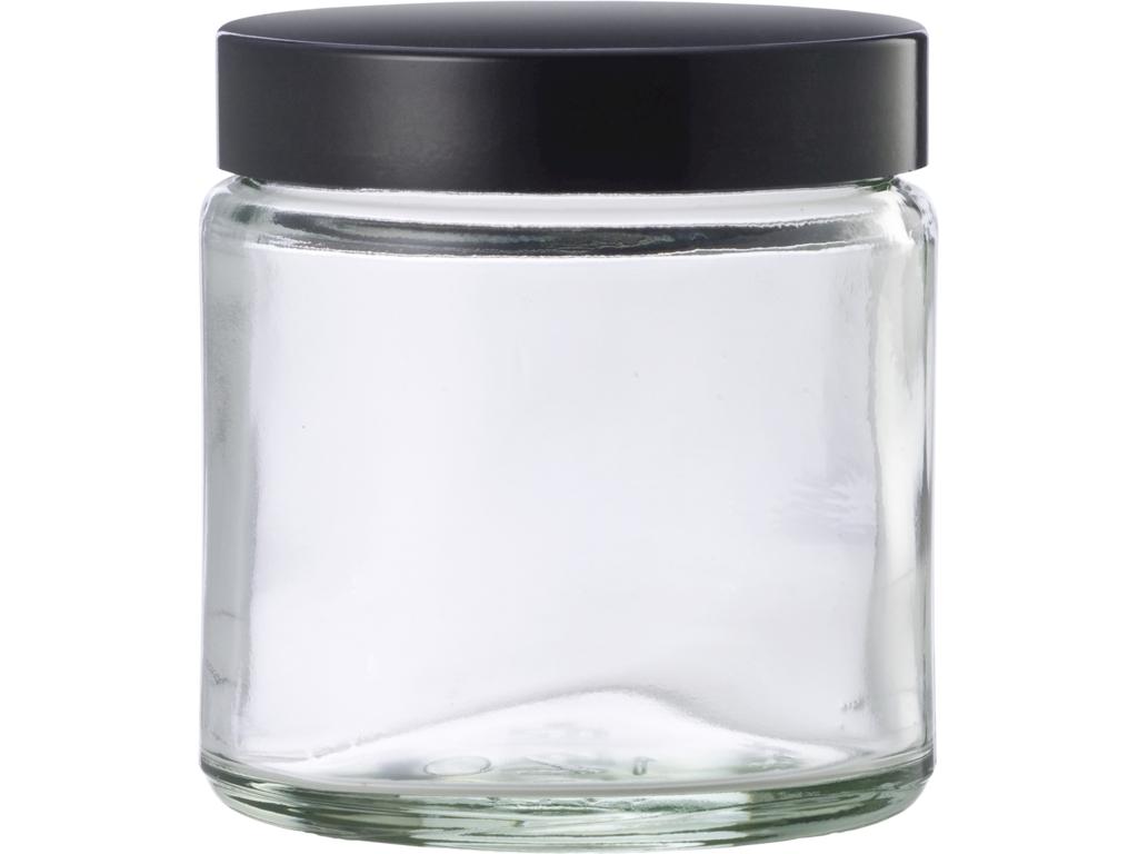 Klar glaskrukke 120 ml