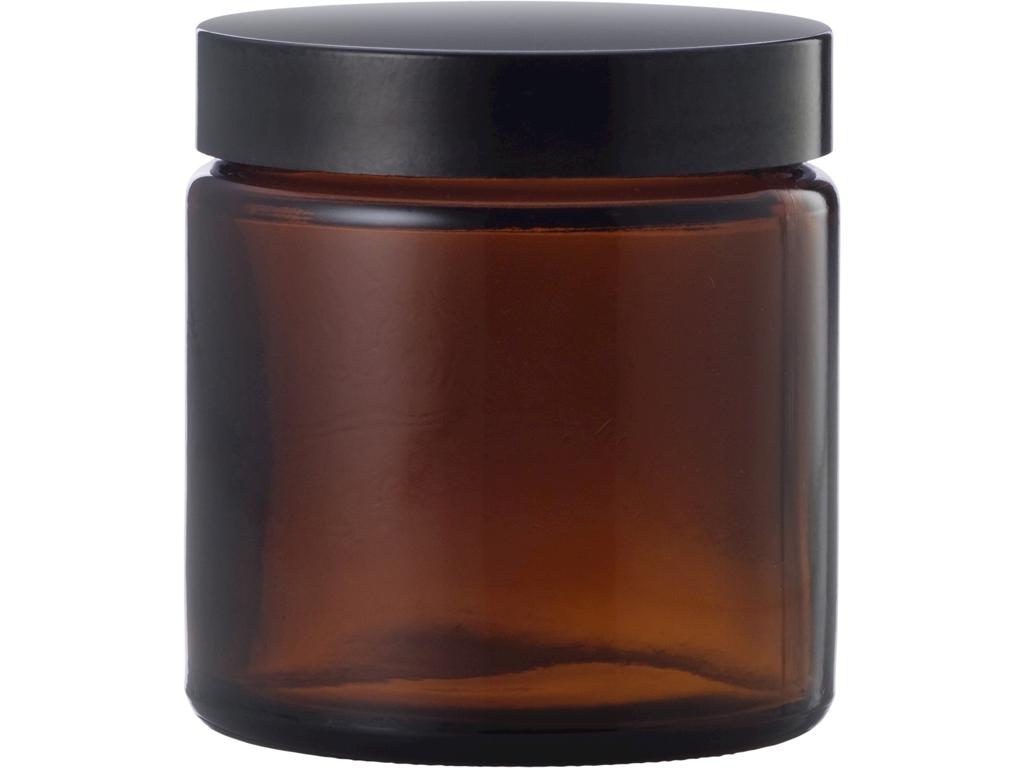 Brun glaskrukke 120 ml
