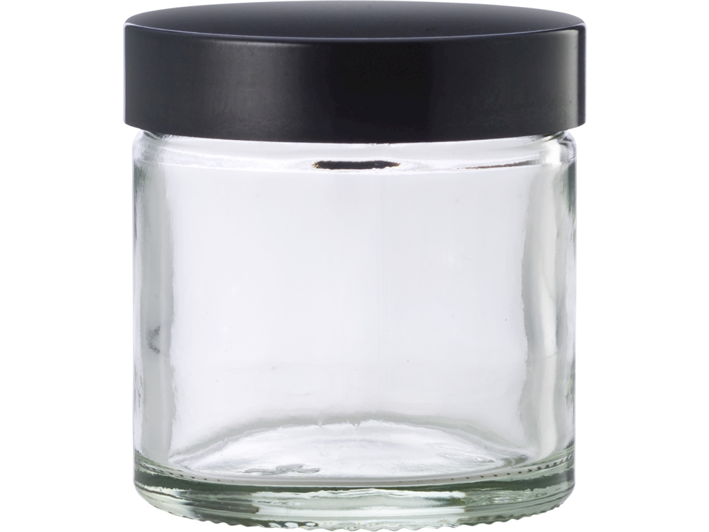 Klar glaskrukke 60 ml
