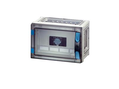 Kasser med skillesikring med indbygget sikringsafbryder