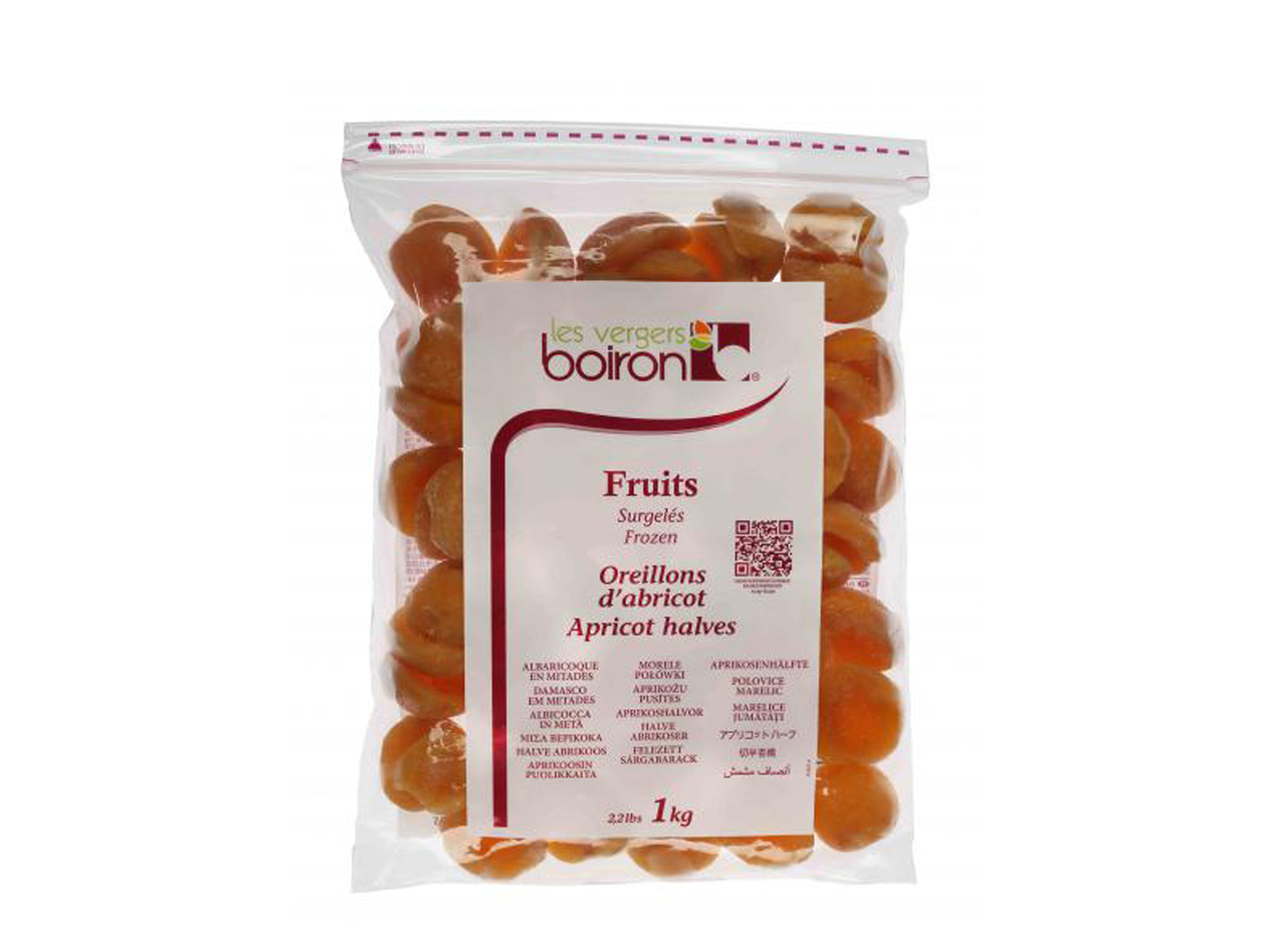 Frosne abrikoser halve 1kg