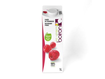 Frugtpure Flydende Hindbær 1L