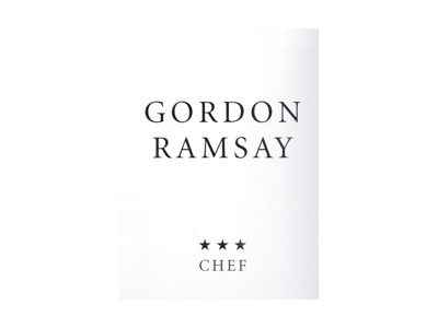 Gordon Ramsay * * * CHEF