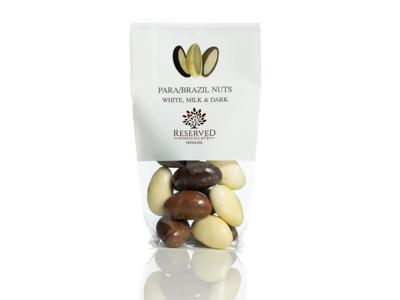 Drageret paranødder m/chokolademix 100 gr