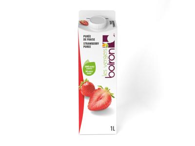 Frugtpure Flydende Jordbær 1L