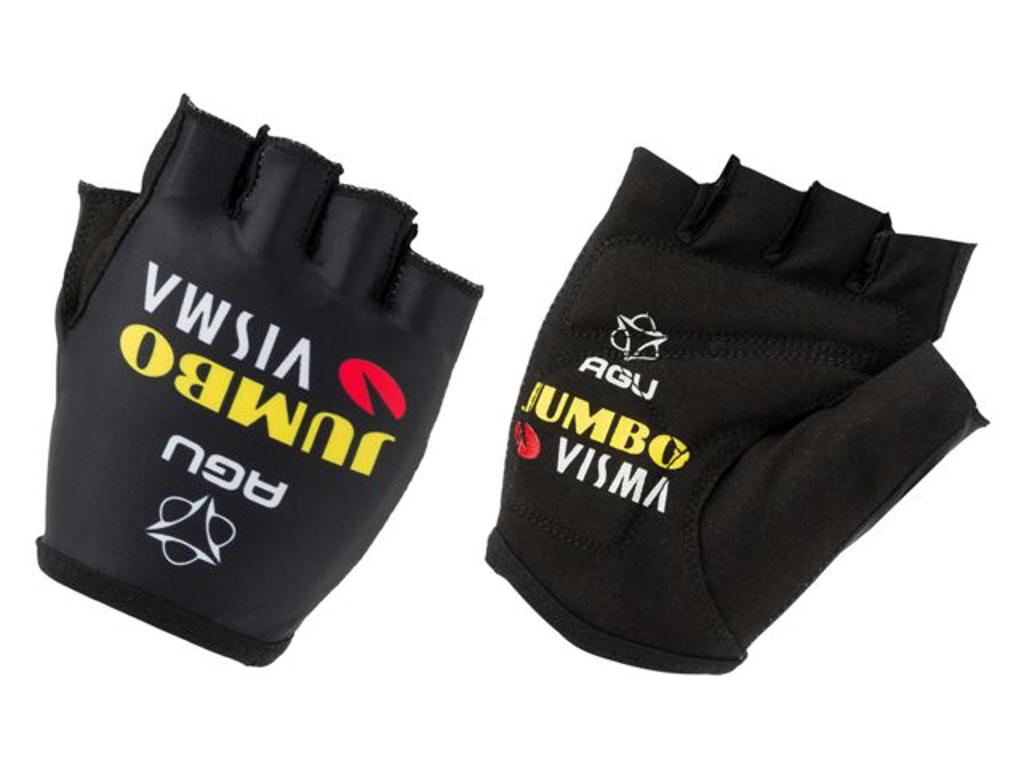 Køb AGU Jumbo Visma Replica Gloves – Cykelhandske – Str. L