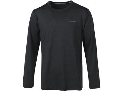 Endurance Mell Melange - T-shirt m. lange ærmer - Sort
