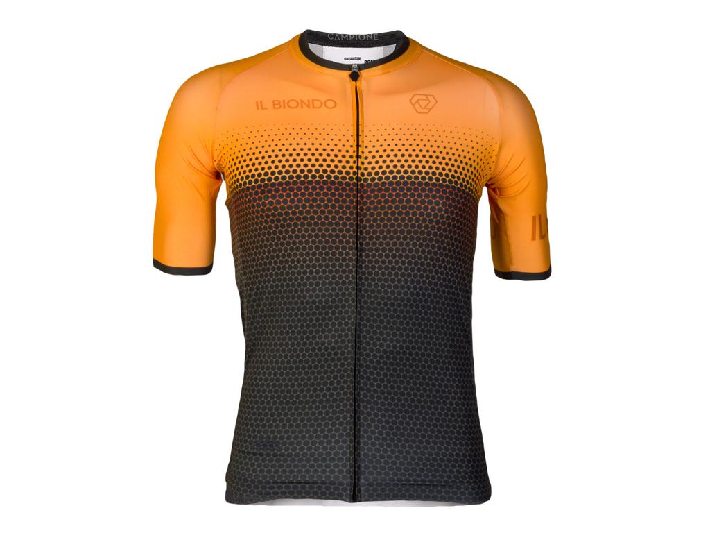 Køb Il Biondo Road Warrier –  Cykeltrøje –  Strike 2.0 Touring – Herre – HiVis Orange – L