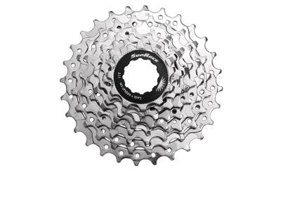 Sunrace CSR86 - Kassette 8 gear - 11-23 tands - Road - Til Shimano eller Sram - Nickel
