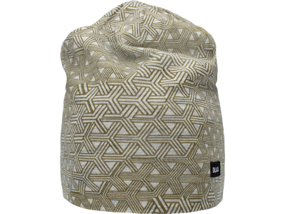 Bula - GEO Printed Wool Beanie - Hue - Moss - Str. Onesize