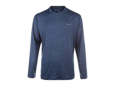 Endurance Mell Melange - T-shirt m. lange ærmer - Blå
