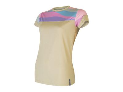Sensor Coolmax Impress - T-shirt med korta ärmar - Kvinnor - Sand