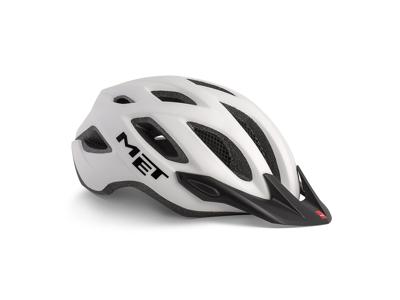MET Crossover - Cykelhjelm - Mat Hvid