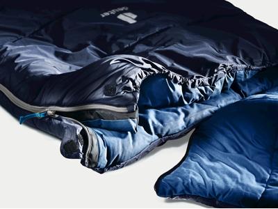 Deuter Orbit SQ +5 - Sovepose til voksne op til 200 cm - Navy Steel