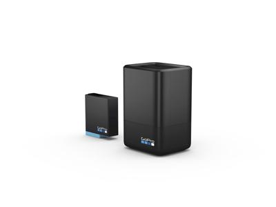 GoPro - Dual batteri lader og batteri til GoPro Hero