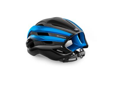 Met Trenta 3K Carbon - Cykelhjelm - Matsort/Mat Blå