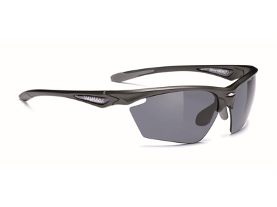 Rudy Project Stratofly - Løbe- og cykelbrille - Smoke linser - Sort/Antracit