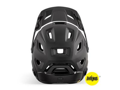 MET Parachute Mips - Cykelhjelm Full face - Mat Sort