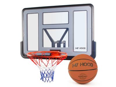 My Hood  - Basketkurv på plade med vægbeslag - Inklusiv bold