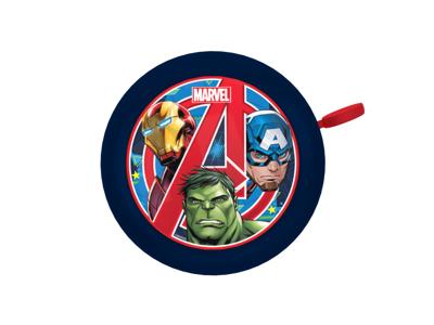 Seven - Avengers - Ringeklokke til børnecykel - Blå/rød -  Str. Ø55mm