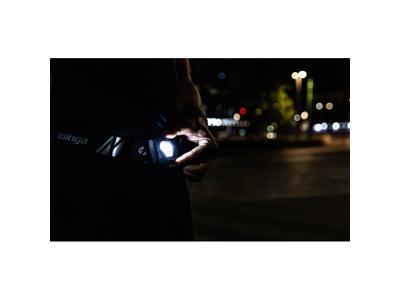 Spanninga S-Run - Løbebælte med Lys for & bag - USB Opladelig