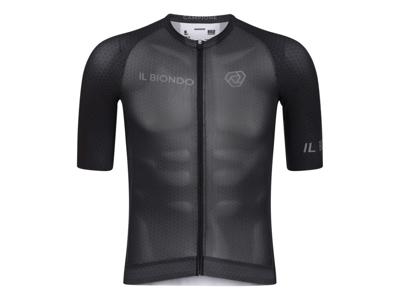 Il Biondo Road Warrier - Cykeltrøje - Thor Racefit - Herre - Sort