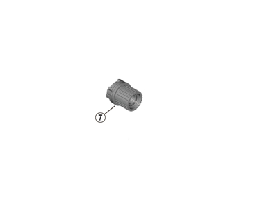 Shimano MT410 - Kassettehus - 12 gear - FH-MT410