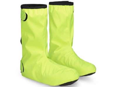GripGrab DryFoot Waterproof Everyday 2 - Skoovertræk - Yellow Hi-Vis