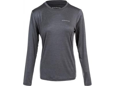 Endurance Maje Melange - T-shirt m. lange ærmer - Dame - Sort