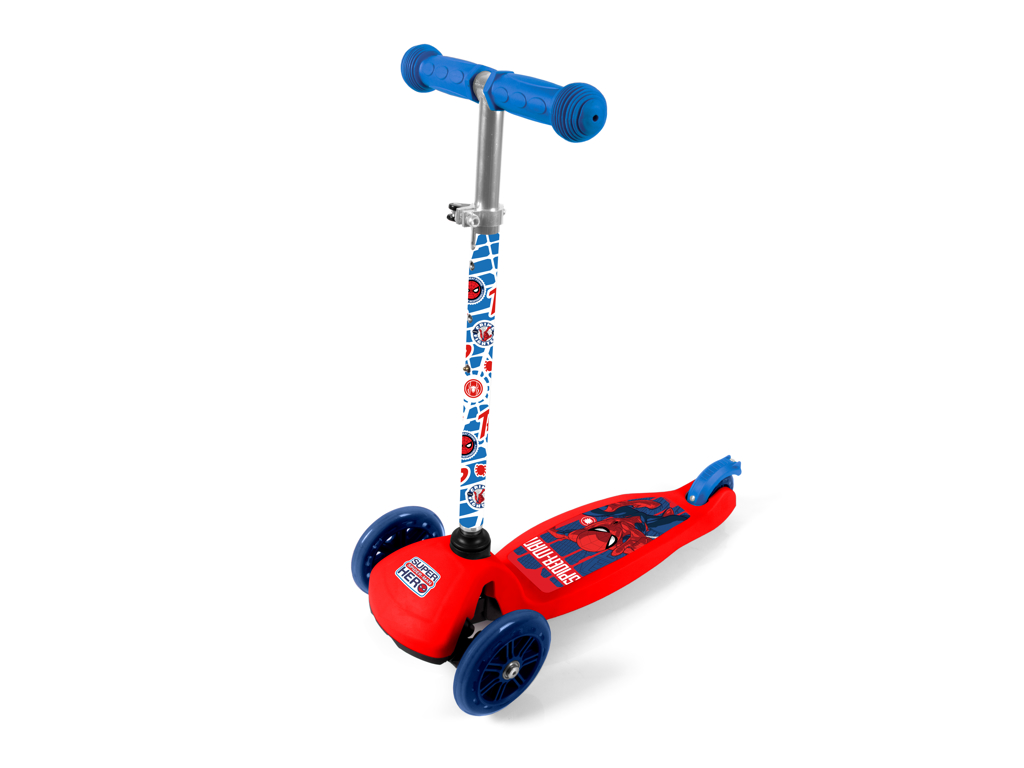 Seven - Spiderman - 3-hjulet løbehjul - Blå/rød - Fra 2 år