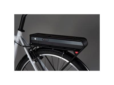 Shimano Steps - Batteri grå til bagagebærer - BT-E6000-GC - 418 Wh