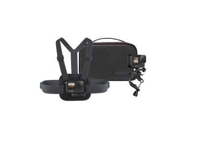 GoPro - Sports kit med brystadapter, styradapter samt taske