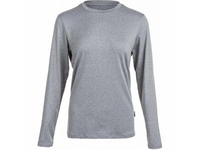Elite Lab Sustainable X1 Elite - T -shirt - Långa ärmar - Kvinnor - Grå