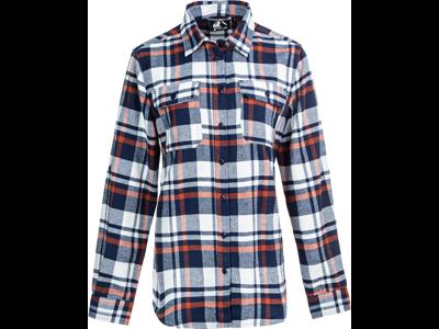 Whistler - Dodo W Checked Shirt - Skjorte - Navy Blazer