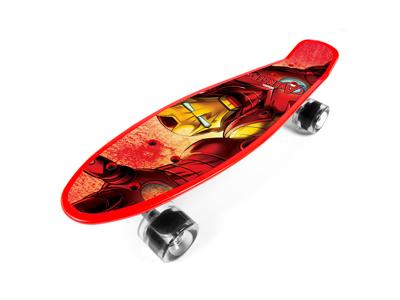 Seven - Avengers Iron man - Penny board - Rød - Fra 6 år