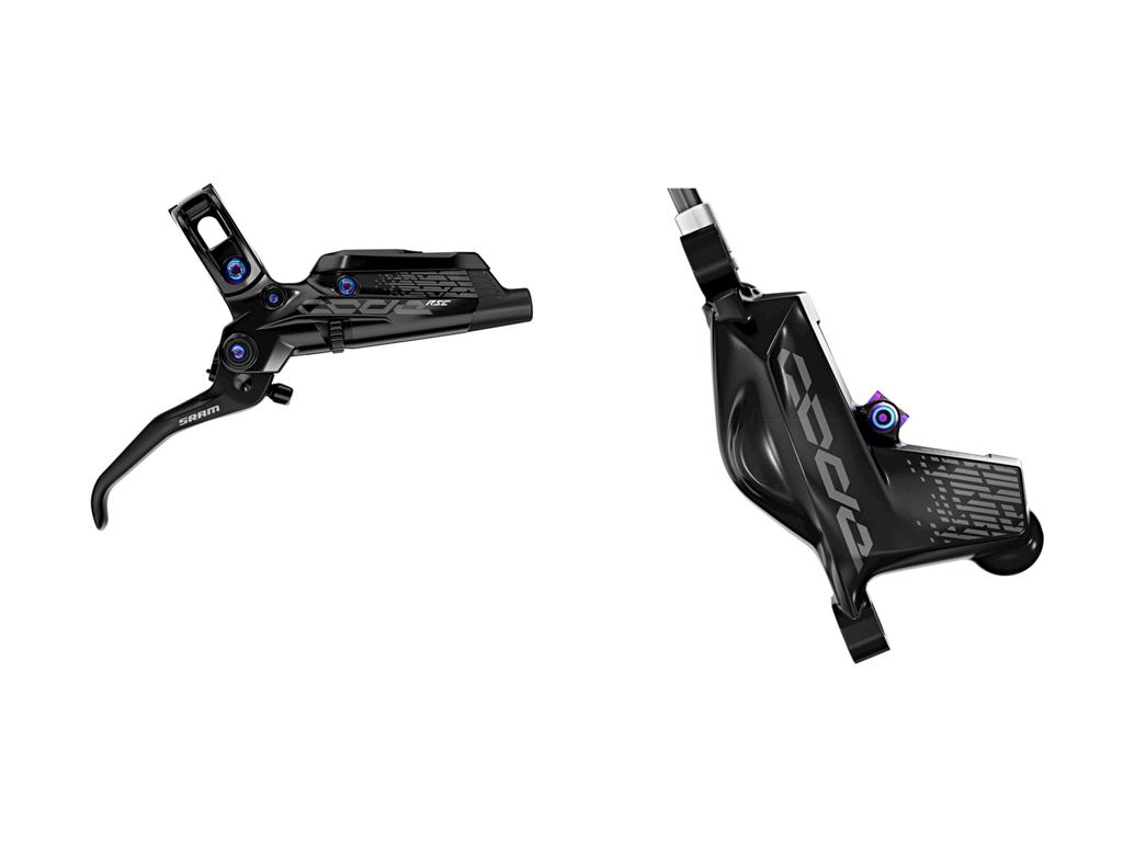 Køb Sram Code RSC – Bremsesæt front – Bremsegreb, kaliber og olieslange – Rainbow