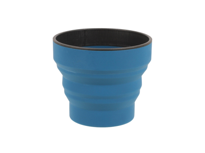 LifeVenture Ellipse Collapsible Cup - Silicone - Navy Blue