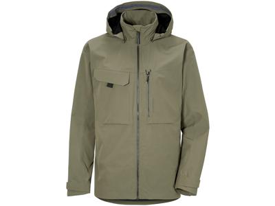 Didriksons - Aston - Jacka för män - Grön