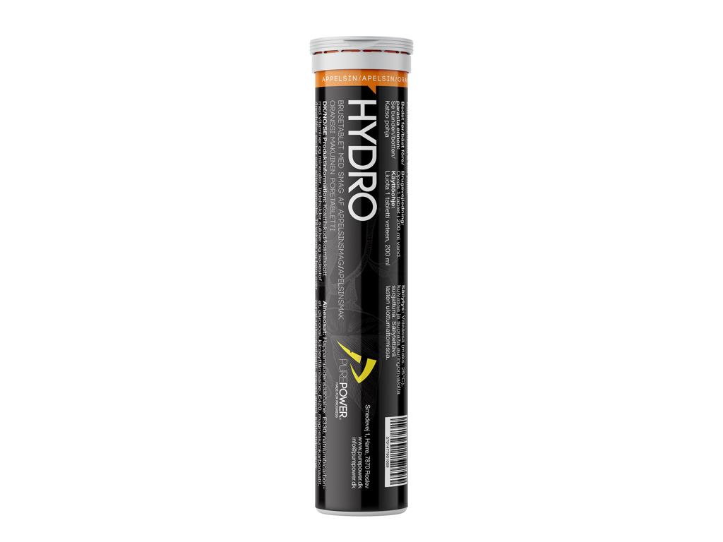 PurePower Hydro - Elektrolyt tabs - Appelsin - 20 tabs
